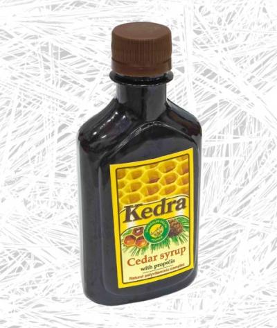 Кедров сируп са прополисом